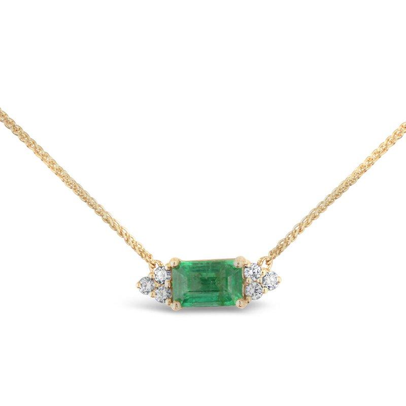 Parlé Emerald and Diamond Necklace