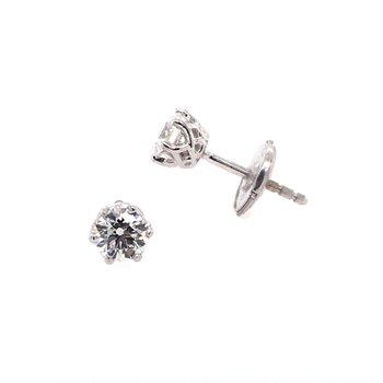 Diamond Crown Studs
