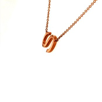 "Sideways ""S"" Necklace"