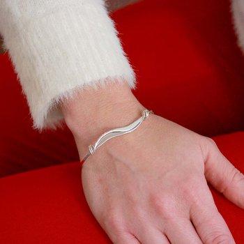 S/S Wave Bracelet