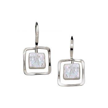 S/S Zenith Freshwater Pearl Earrings