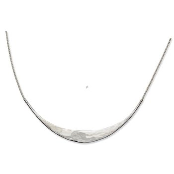 Sterling Silver Glimmer Necklace