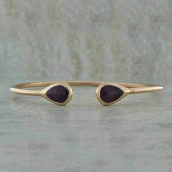 Purple Spiny Oyster Bangle
