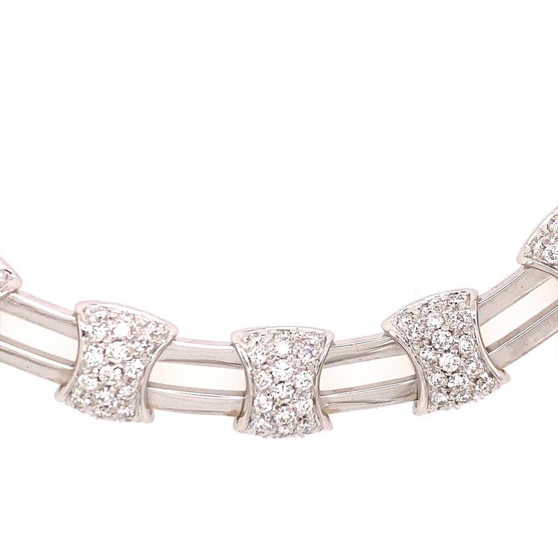 B&C Estate Collection Diamond fancy Link Necklace