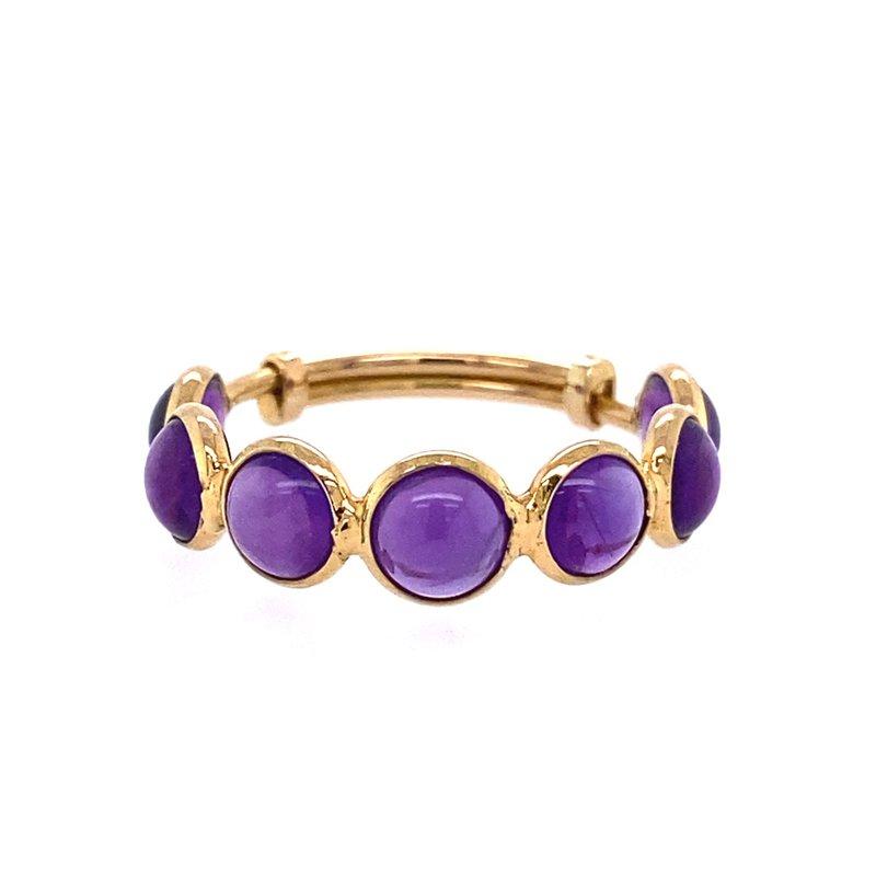 Tresor Amethyst Adjustable Ring