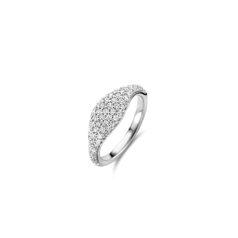 Ti Sento Pave Style Ring