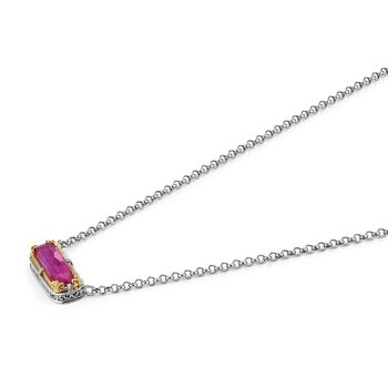 Ruby Doublet Necklace