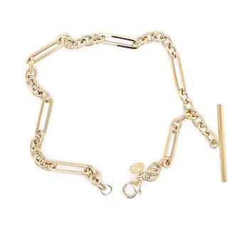 Paperclip Inspired Bracelet