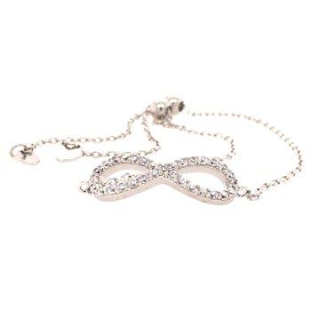 Infinity Style Bolo Bracelet