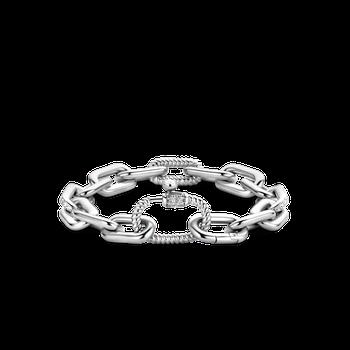 Chunky Fancy Link Bracelet