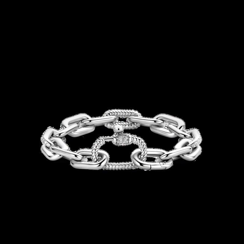 Ti Sento Chunky Fancy Link Bracelet