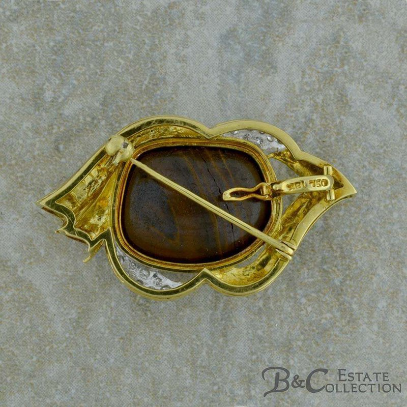 B&C Estate Collection Boulder Opal Brooch/Pendant