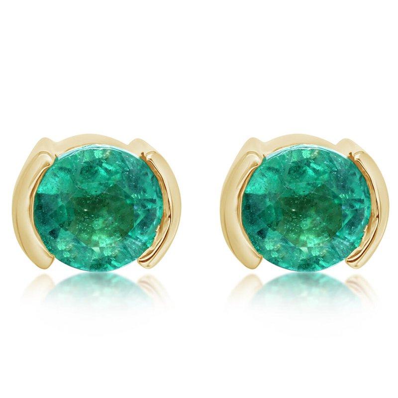 Parlé Emerald Studs