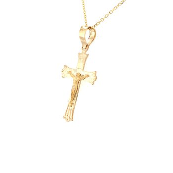 Fancy Gold Crucifix
