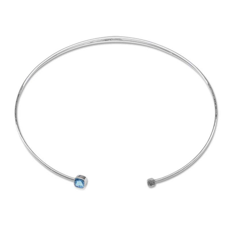 E. L. Designs Blue Topaz Collar