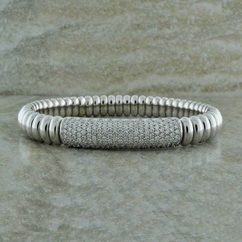 Luxurious Diamond Stretch Bracelet
