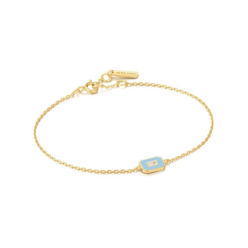 Ania Haie Enamel Emblem Bracelet