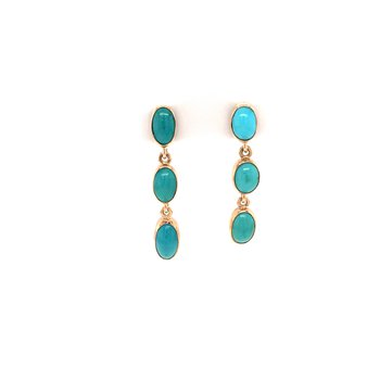 Turquoise Dangle Earirngs