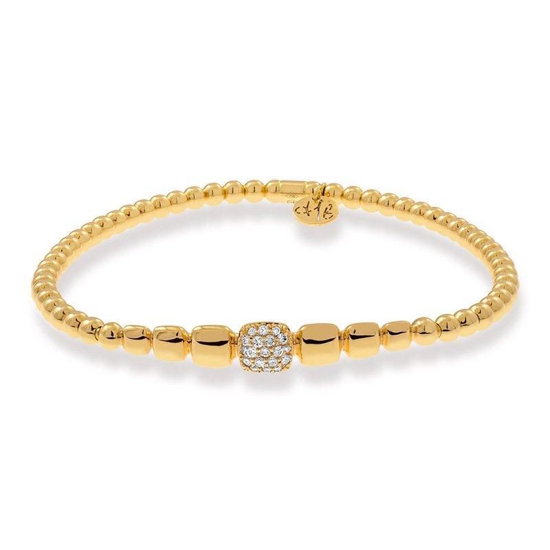 Hulchi Belluni Pave Diamond Bangle