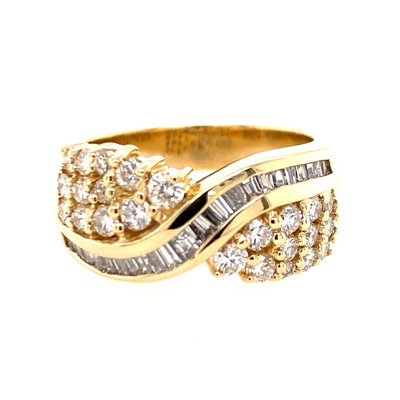 B&C Estate Collection Diamond Cocktail Ring