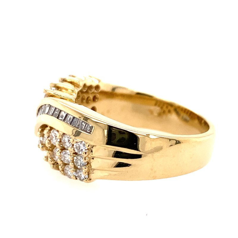 B&C Estate Collection Diamond Cocktail Ring