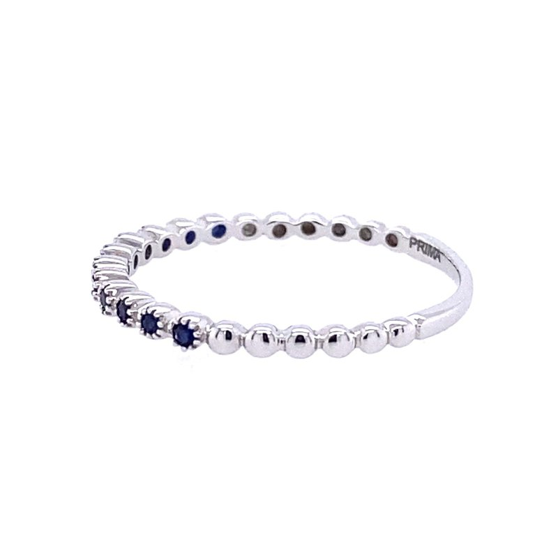 B&C Collections Sapphire Beaded Band