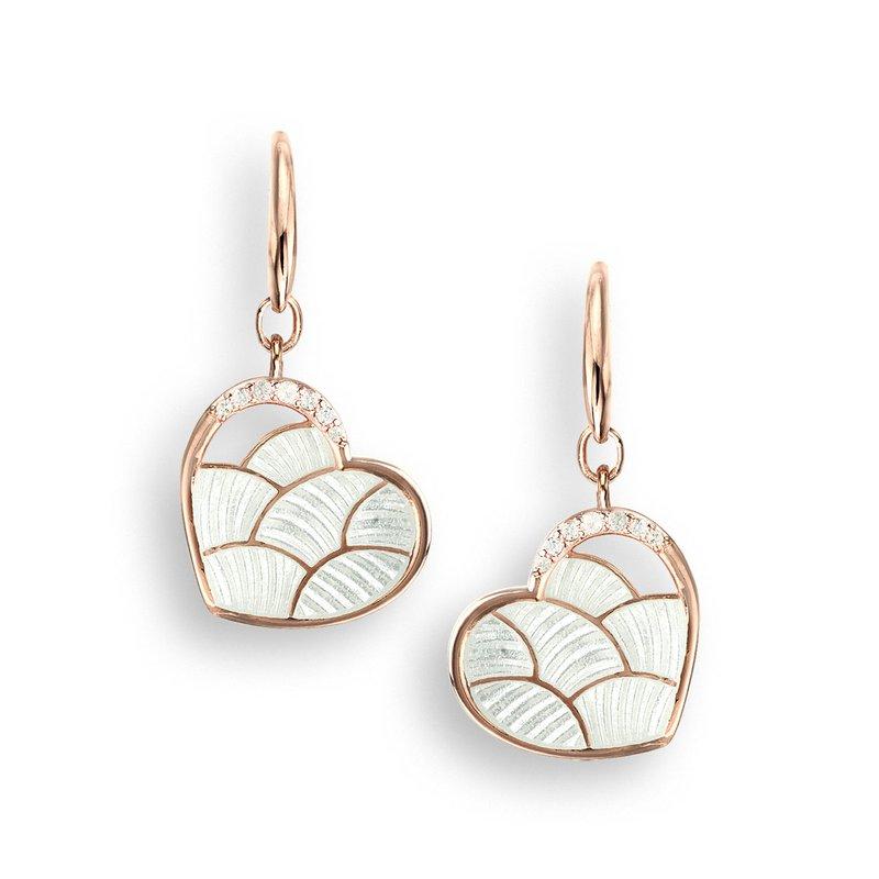 Nicole Barr Designs IN-STORE Collection Enamel Heart Earrings