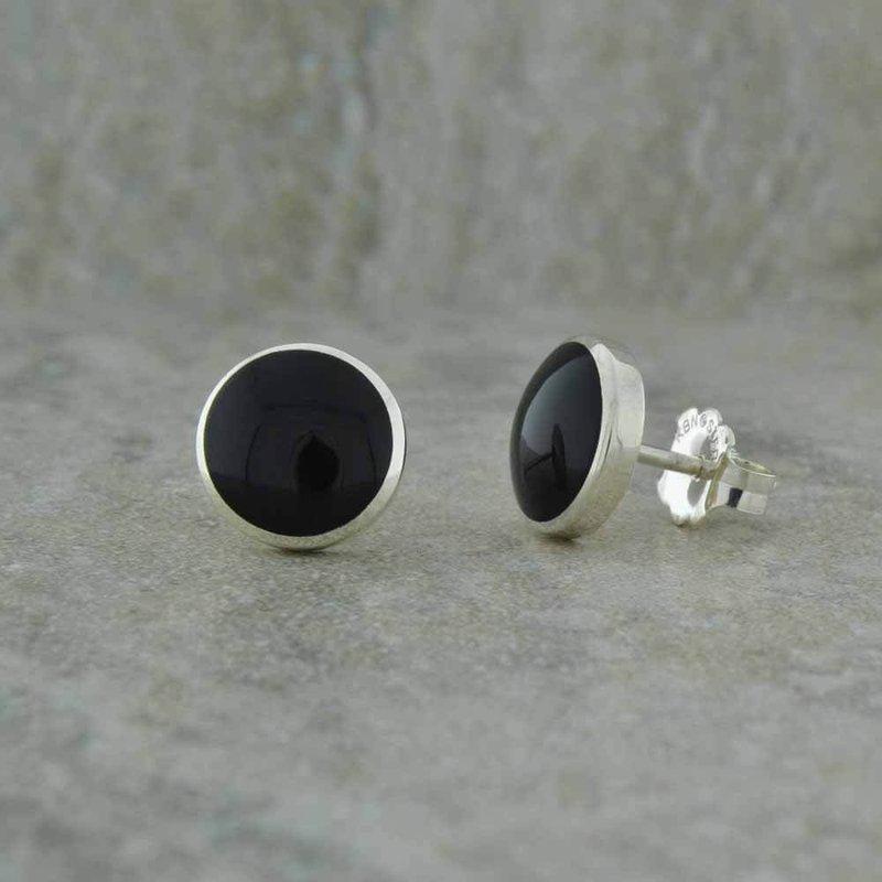 Kabana Onyx Stud Earrings