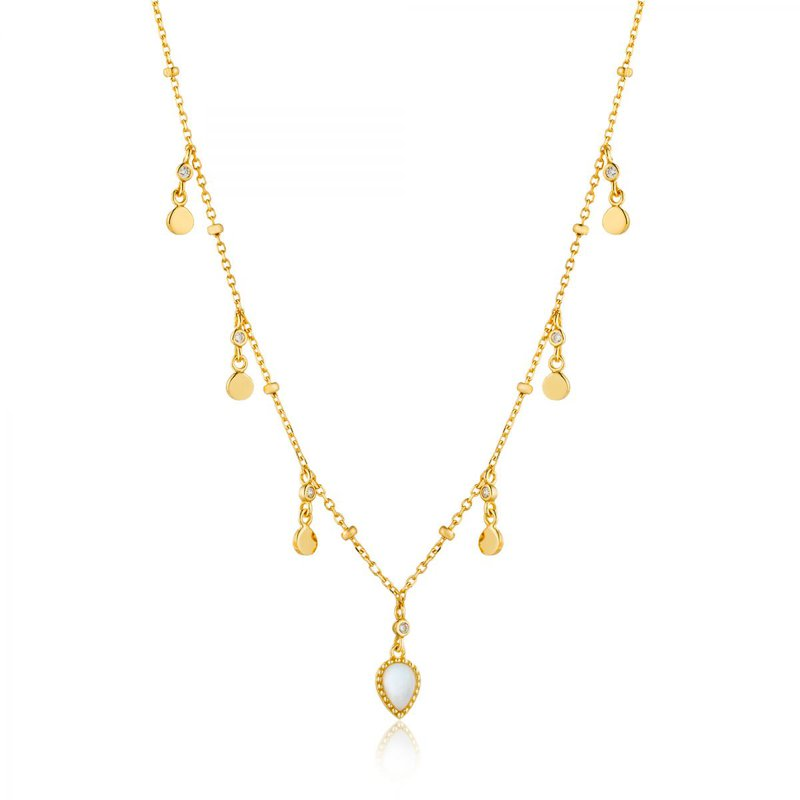 Ania Haie Dream Drop Discs Necklace