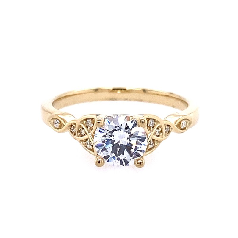 B&C Collections Celtic Engagement Ring