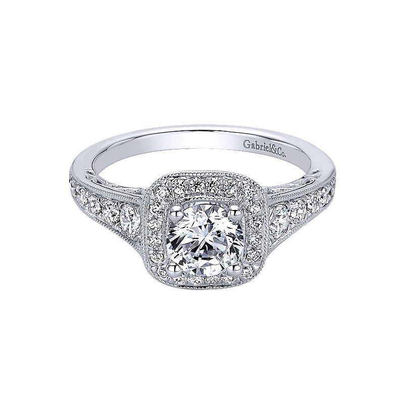 Gabriel & Co. - Bridal Diamond Engagement Ring