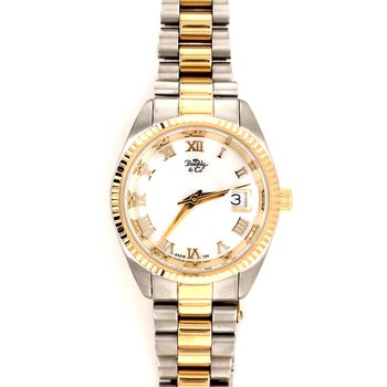 Ladies Tow Tone Bracelet Watch