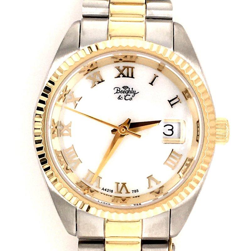 B&C Collections Ladies Tow Tone Bracelet Watch