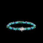 Ti Sento Mixed Blues Beaded Bracelet