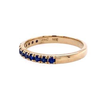 1/4 Carat Sapphire Band