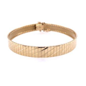 Flat Omega Bracelet