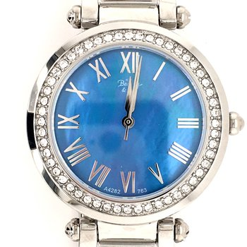 Crystal Accented Ladies Watch