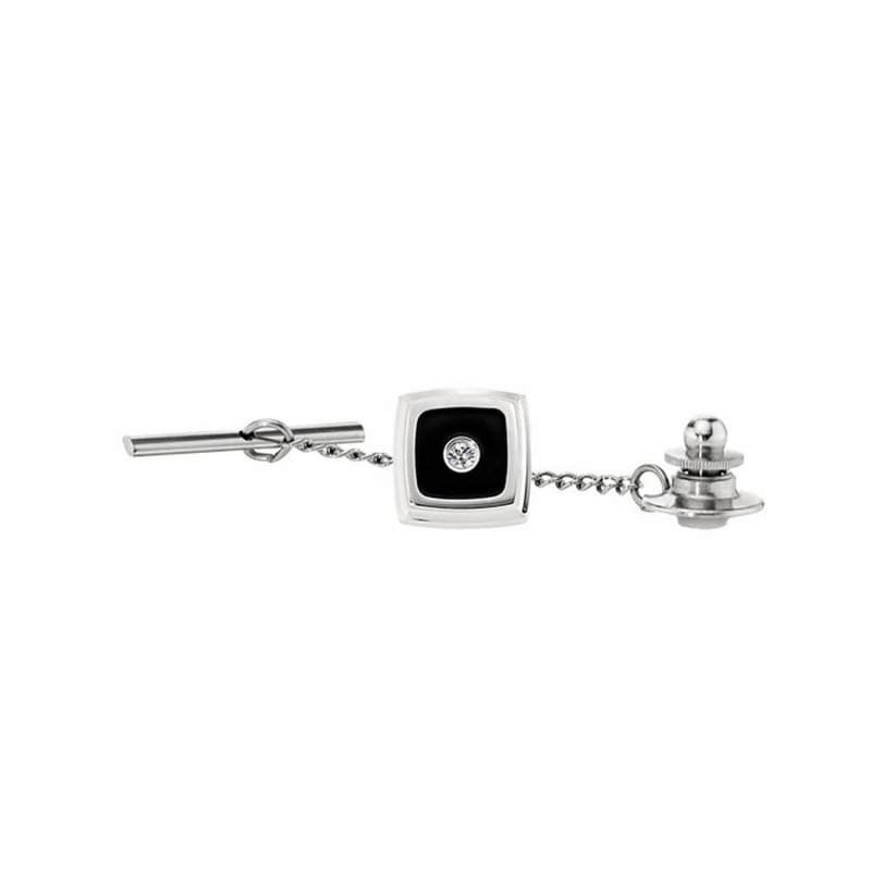 B&C Collections Diamond Accented Tie Tac
