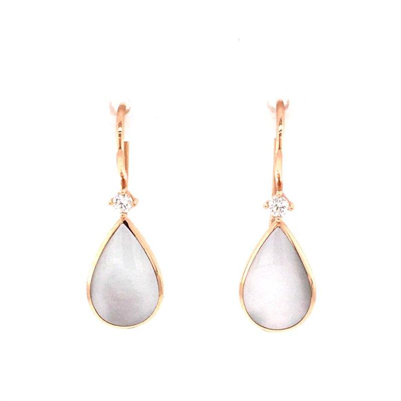 Kabana Mother of Pearl Drop Earrings