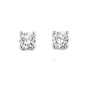 .75ctw Diamond Studs