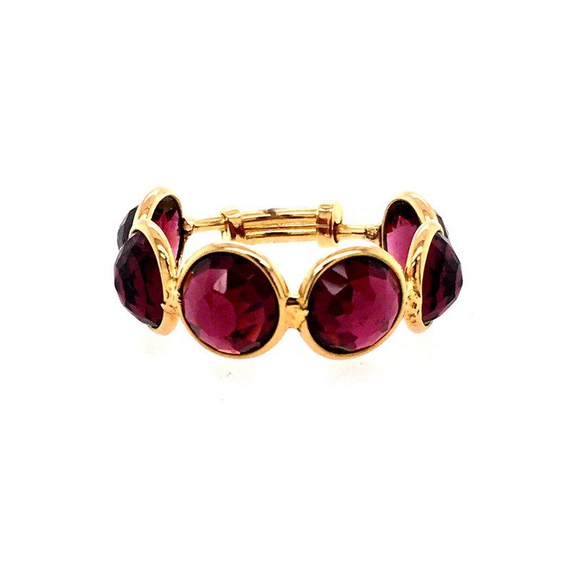 Tresor Rhodolite Garnet Adjustable Ring