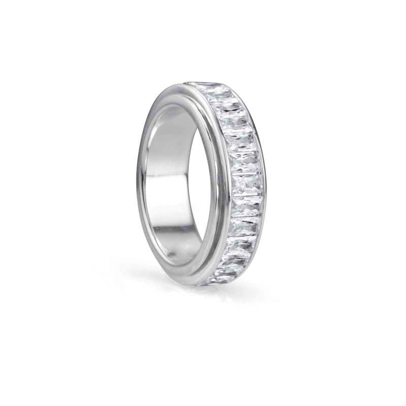 Meditation Rings  Clarity Spinning Ring