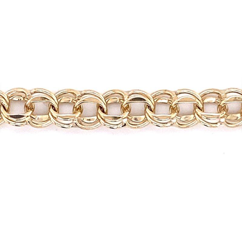 B&C Estate Collection Double Link Charm Bracelet