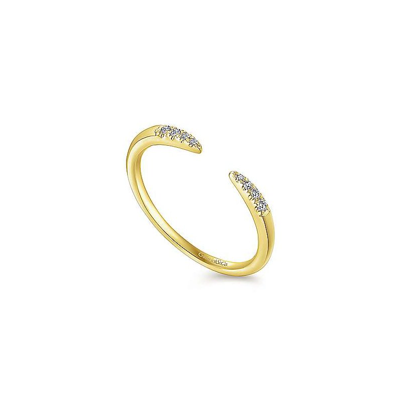Gabriel & Co. -  IN-STORE COLLECTION Diamond Open Band