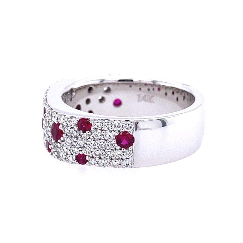 Fana Ruby & Diamond Ring