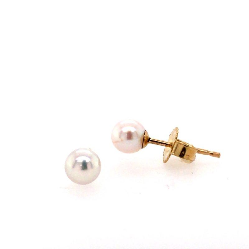 B&C Creations Peal Stud Earrings