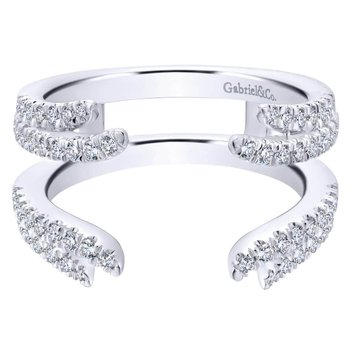 14K White Diamond Enhancer