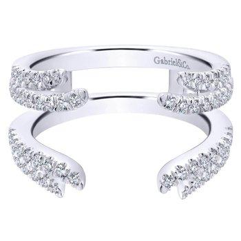 14K White Diamond Enhancer