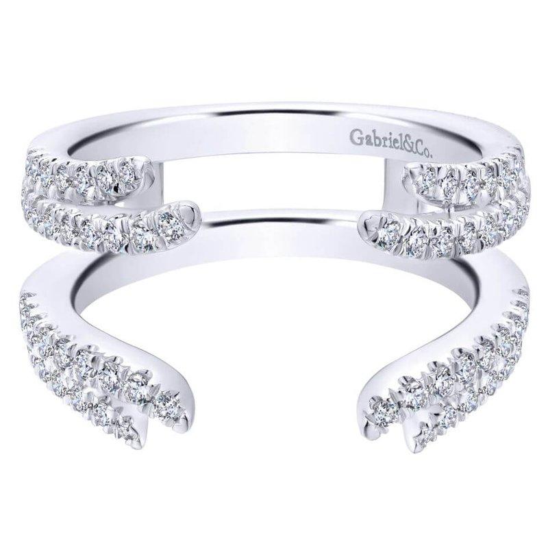 Gabriel & Co. -  IN-STORE COLLECTION 14K White Diamond Enhancer