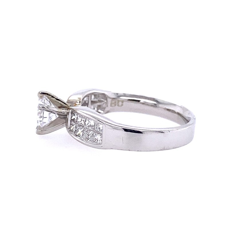 B&C Creations Invisible Set Engagement Ring